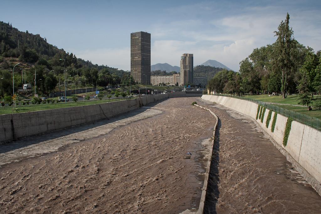 A view upstream
