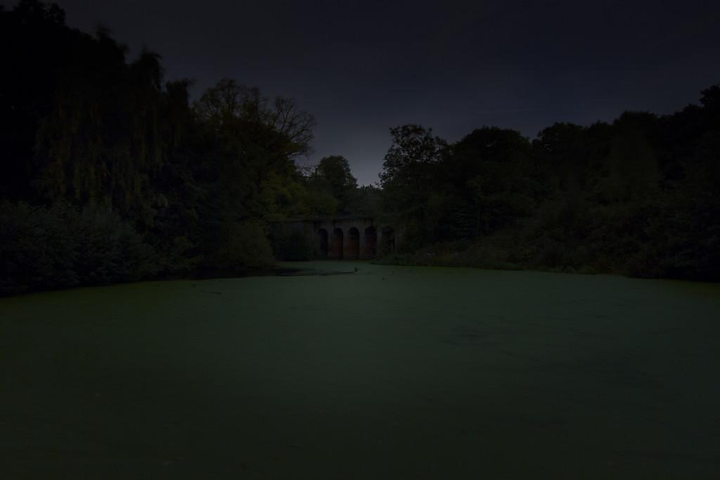 Untitled (Romantic viaduct, Hampstead Heath)
