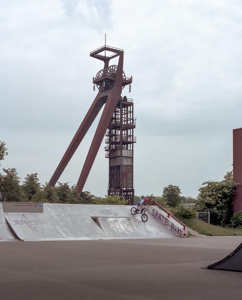 Skatepark at Zeche Recklinghausen