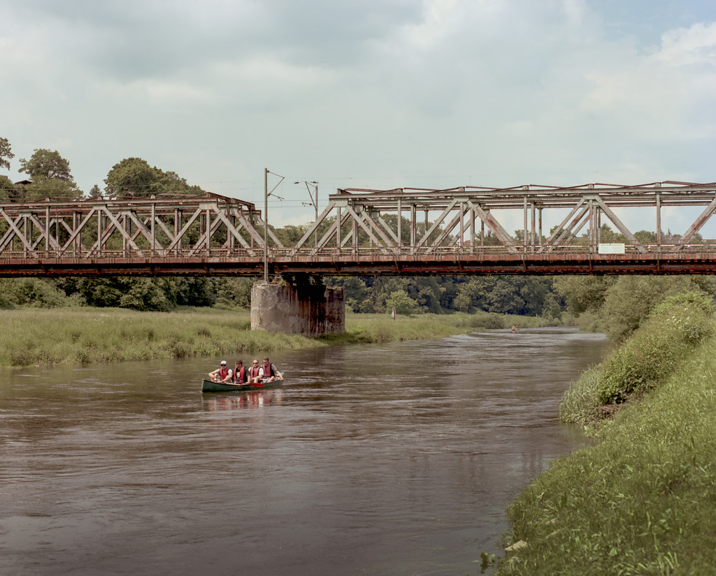 Canoe at Eisenbahnbrücke Hattingen