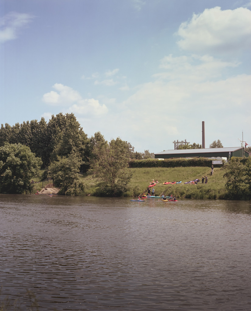 Kayaks at the Ruhr