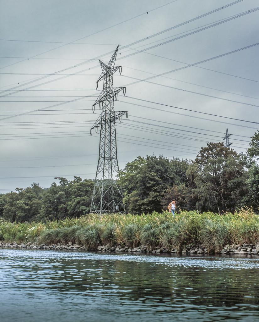 Walkman by the Ruhr riverside
